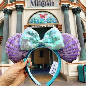The little Mermaid Minnie ears